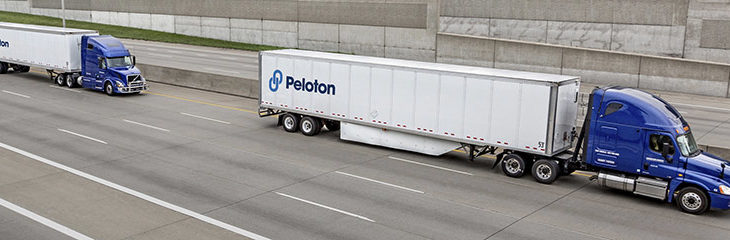 Truck platooning concept explained