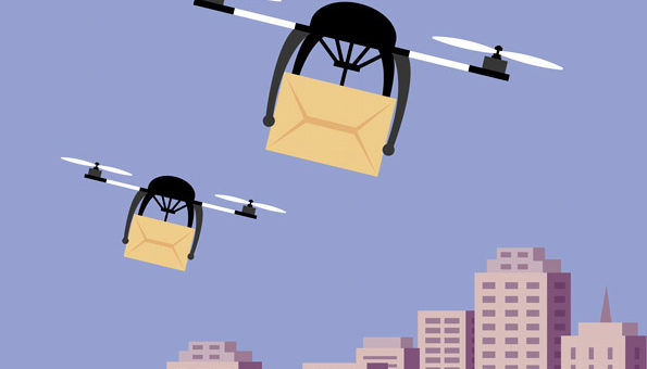 The future of drones in logistics